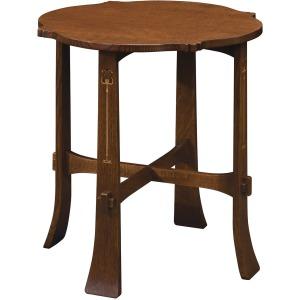 Harvey Ellis Tea Table - Oak