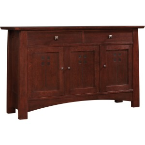 Highlands Small Entertainment Console - Oak