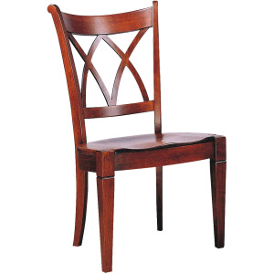 Lafayette Lattice Side Chair w/Wood Seat