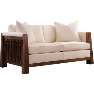 "Highlands 61"" Loveseat - Oak"