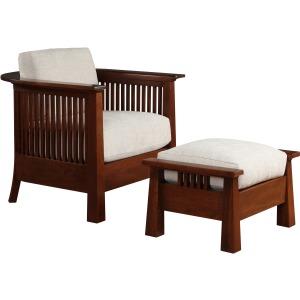 Park Slope Chair & Ottoman