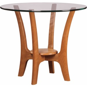 High Line Round End Table