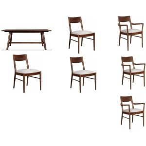 Walnut Grove 7PC Dining Set