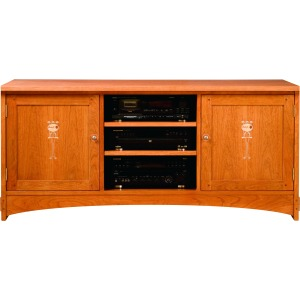 "62"" Harvey Ellis TV Console -Oak"