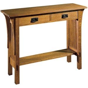 Console Table - Oak