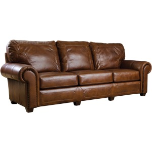 "Santa Fe 100"" Sofa - Leather"