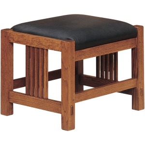 Footstool With Casters