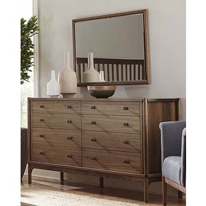 Walnut Grove Dresser & Mirror