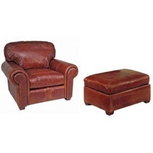 Santa Fe Chair & Ottoman