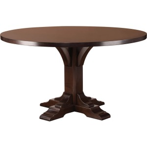 """Bristol Dining Table with 48"""" Wood Top"""