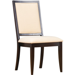 Greenwich Side Chair w/Leather Seat