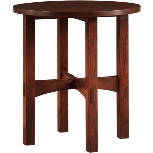 Round Tabouret Table - Cherry