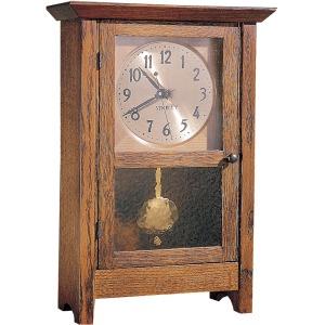 Mantel Clock - Oak