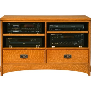 """44"""" TV Console -Oak"""