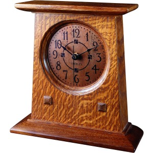 Bracket Clock -Oak