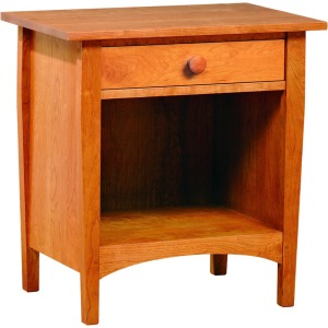 Harvey Ellis Open Night Stand - Cherry w/Cherry Drawer Fronts