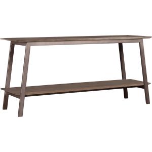 Waldron Console Table - Gunmetal w/Fieldstone Top (Ash)