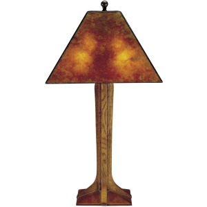 Corbel Base Table Lamp - Mica & Oak