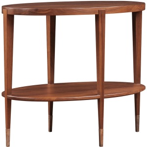 Brower Oval End Table