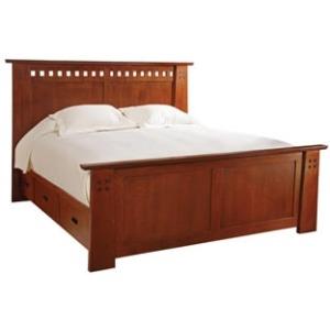 Highlands Bed, Queen - Platform/Storage