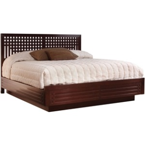 Glasgow Platform Bed, Cal King