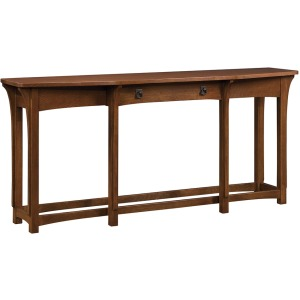 Console Table - Oak