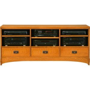 """62"""" TV Console -Oak"""