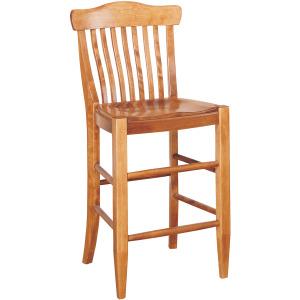 Antiguan Counter Stool w/Wood Seat