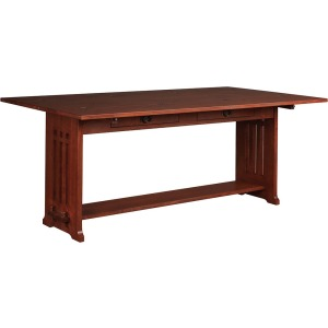 Flip Top Harvest Table - Oak