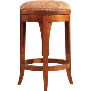 Swivel Counter Stool - Oak