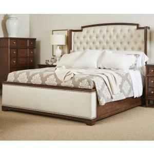 Vintage Upholstered Bed, King