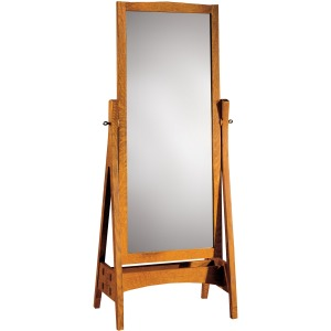 Cheval Mirror - Oak
