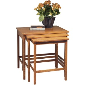 Harvey Ellis Nesting Tables - Oak