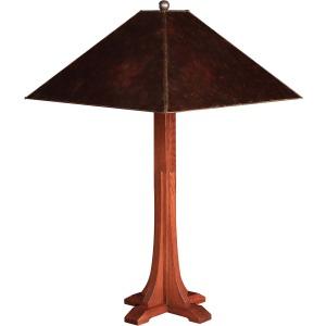 Cross Base Table Lamp - Mica