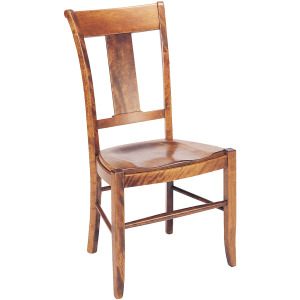 Provence Side Chair w/Leather Seat