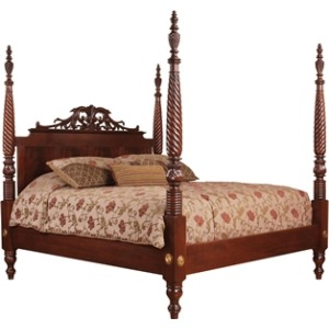 St. Croix Poster Bed, Queen, Crest