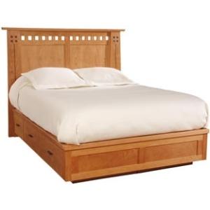 Highlands Bed, Cal King - HB, Platform/Storage