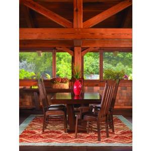 Highlands 7 PC Dining Set - Oak