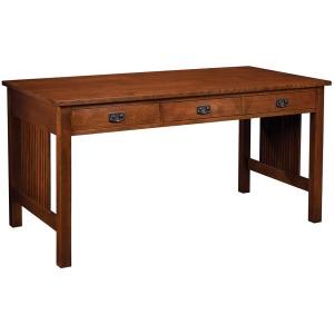 Computer Work Table - Oak