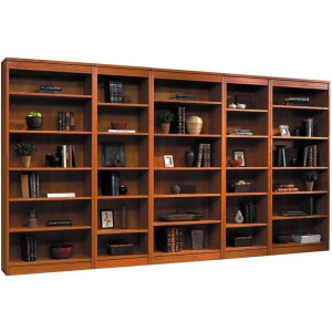 """34"""" Bookcase with Bottom Doors"""