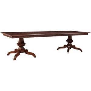 Glenora Double Pedestal Table
