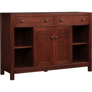 "48"" Highlands Entertainment Console - Oak"