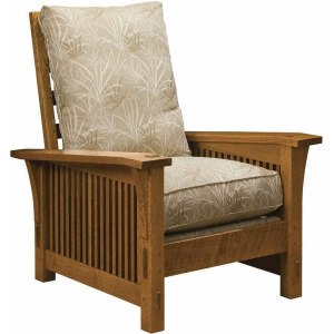 Spindle Morris Chair With Loose Cushion