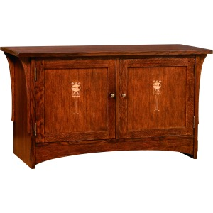"50"" Harvey Ellis TV Console -Oak"