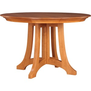 """Highlands 52"""" Round Dining Table - Cherry"""
