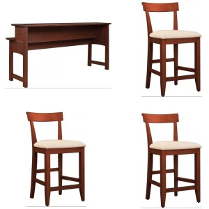 3PC Gathering Island Set - Oak