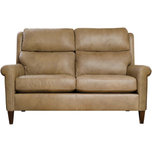 "Woodlands 61"" Sock Arm Loveseat - Upholstered"