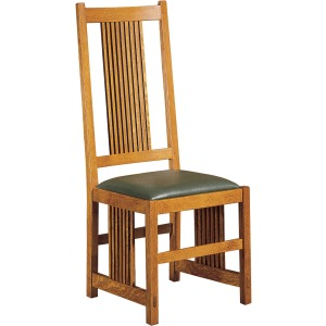 Spindle Side Chair - Oak