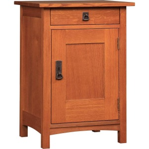 Left Hinged Cabinet -Oak