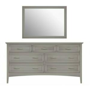 Revere Seven-Drawer Dresser & Mirror